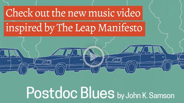 Check out the new music video inspired by The Leap.