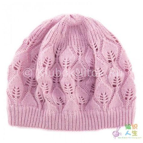 Сиреневая шапочка | Вязание для женщин | Вязание спицами и крючком. Схемы вязания.