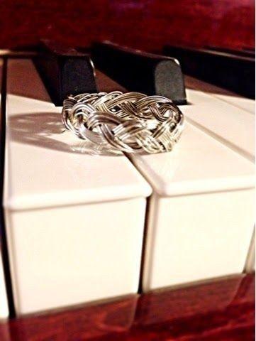Ou faça um anel vitoriano trançado. | Os 52 projetos faça-você-mesmo mais fáceis e rápidos de todos os tempos