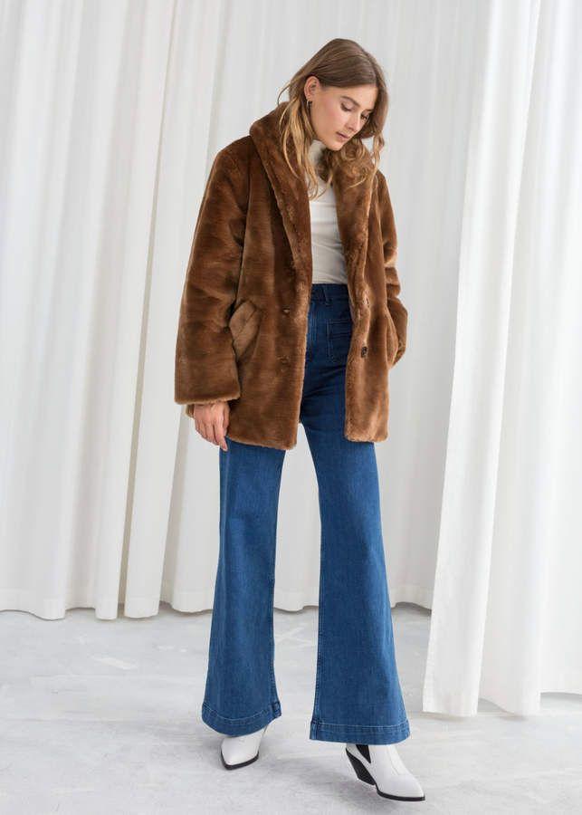 Short Faux Fur Coat Short Faux Fur Coat Fur Coat Street Style Brown Faux Fur Coat