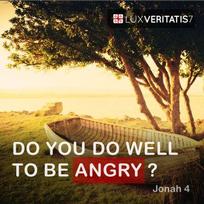 """Tetapi firman TUHAN: """"Layakkah engkau marah?"""""""