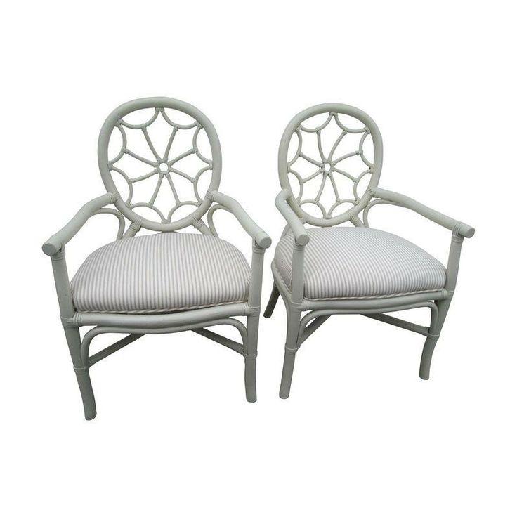 Lanai Patio Chairs - A Pair - $850 Est. Retail - $399 on Chairish.com