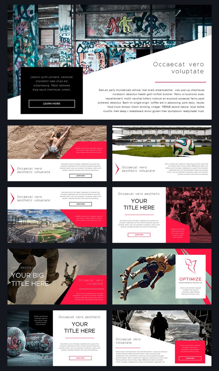 165 best powerpoint templates images on pinterest optimize modern powerpoint template toneelgroepblik Image collections