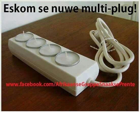 Eskom se nuwe multi plug #eskom#jokes#humor#SA