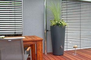 Regentonne-Rainbowl-Flower-150-Liter-anthrazit-Regentonne-Regenfass-Designfass