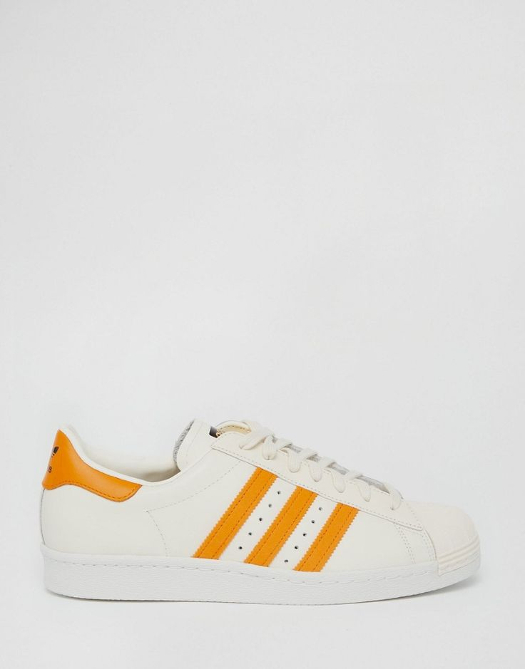 Image 2 of adidas Originals Superstar 80's Sneakers In White S75842
