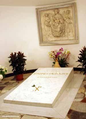 Tomb of Pope John Paul II, Vatican City, Rome, Italy