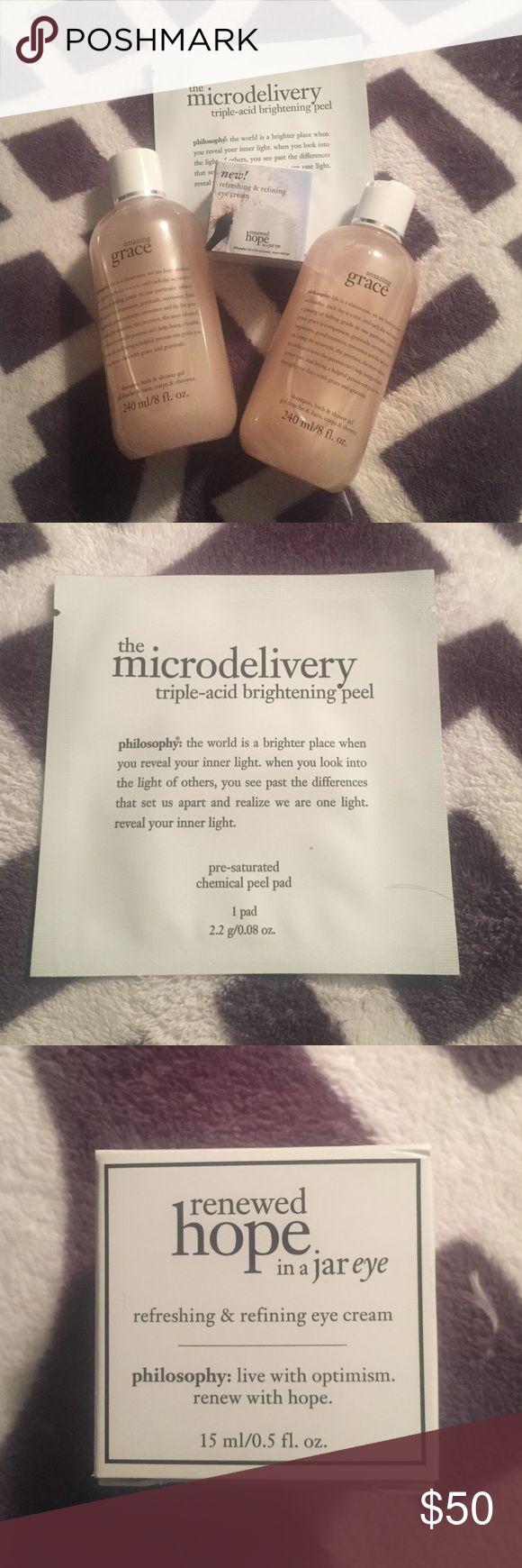 mas de 25 ideas increibles sobre peeling duschgel en pinterest philosophy grab bag 2 amazing grace shower gel renewed hope in a jar eye cream