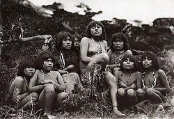 Mujeres Yamanas.