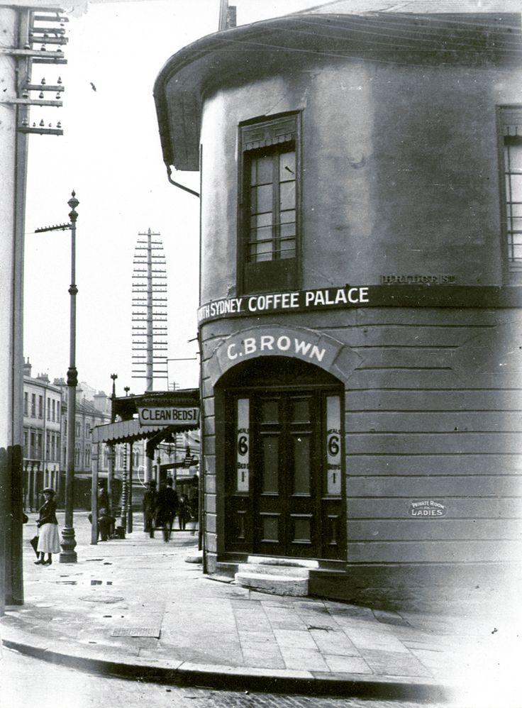 North Sydney Coffee Palace, corner of Bridge and George Streets 1901