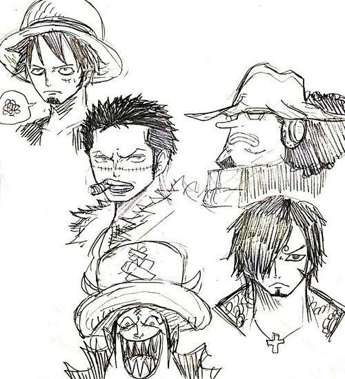 Monkey D Luffy One Piece Roronoa Zoro Dracule Mihawk: One Piece Character Clothes Swap