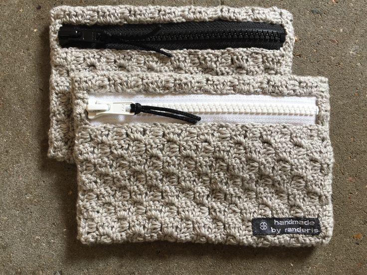 Hæklet pung - crochet