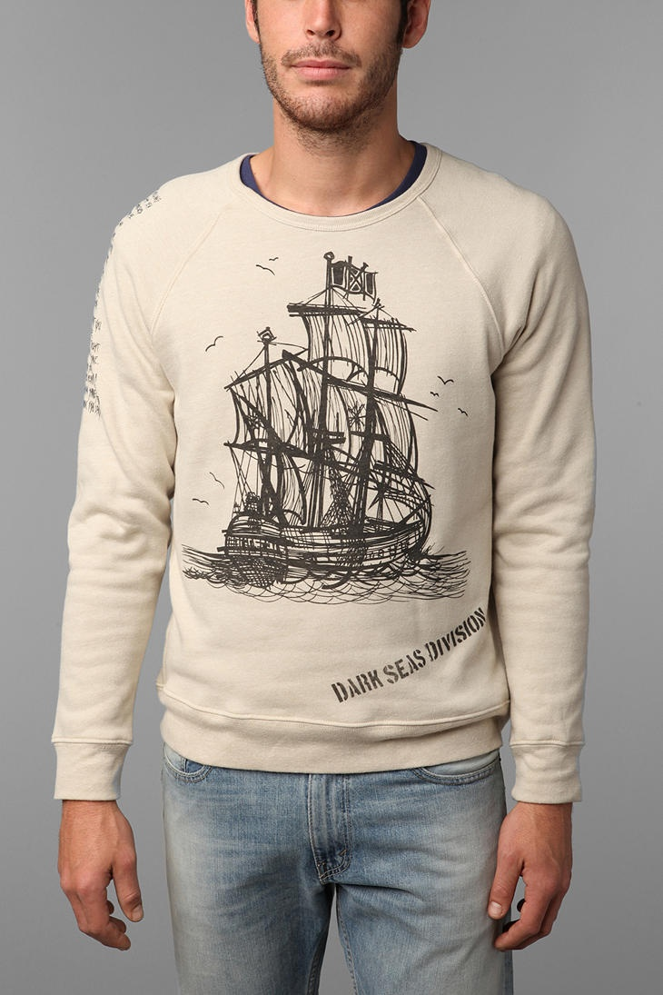 Dark Seas Sailors Prayer Crew Neck Sweatshirt  #UrbanOutfitters  $59.00