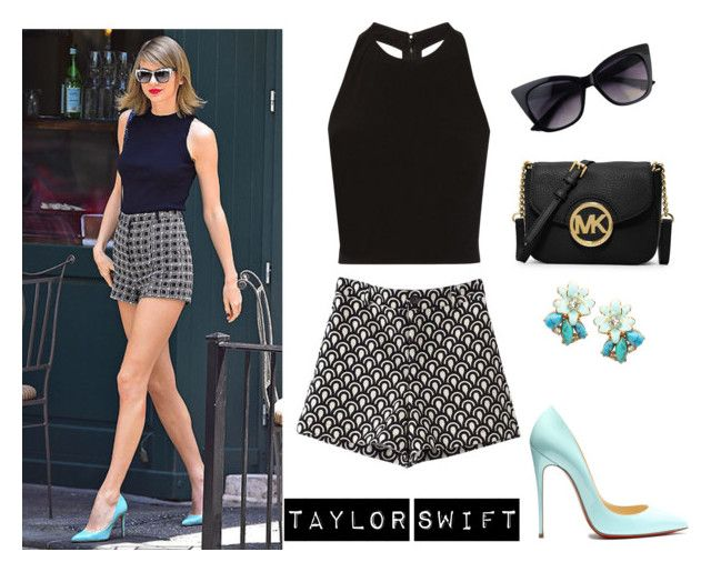 TAYLOR SWIFT by malirybka1989 on Polyvore featuring Alice + Olivia, MICHAEL Michael Kors and Kate Spade