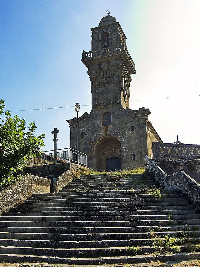 Iglesia barroca de San Salvador de Coiro