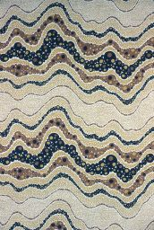 Designed by Eleanor Kluck (American, born 1919) and Henry Kluck (American, 1922–2007). Pebble Beach (Furnishing Fabric), 1974. Gift of Eleanor and Henry Kluck, 1985.