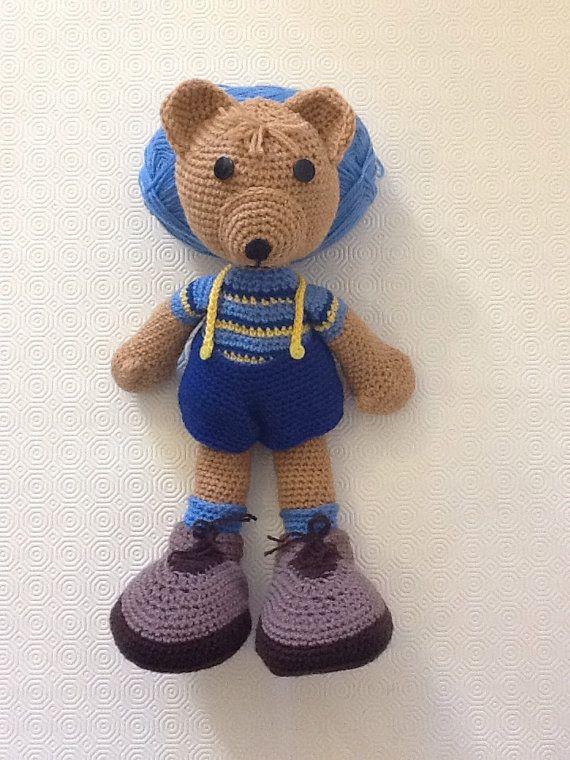 Amigurumi teddy bear. by EvalestAmigurumi on Etsy