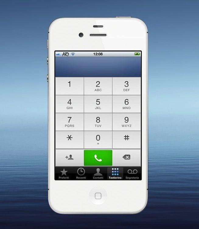 iOS 6 Dailer Theme – Get iOS 6 Dialer Now!