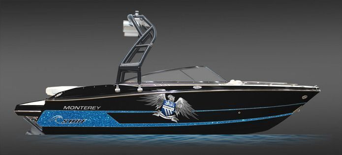 Monterey's New Luxury Surf Boats -  Monterey  Boats has teamed up with Roswell wake technologies to create a pair of luxury performance surf boats, the 218SS and 238SS. Underwater-Lights USA