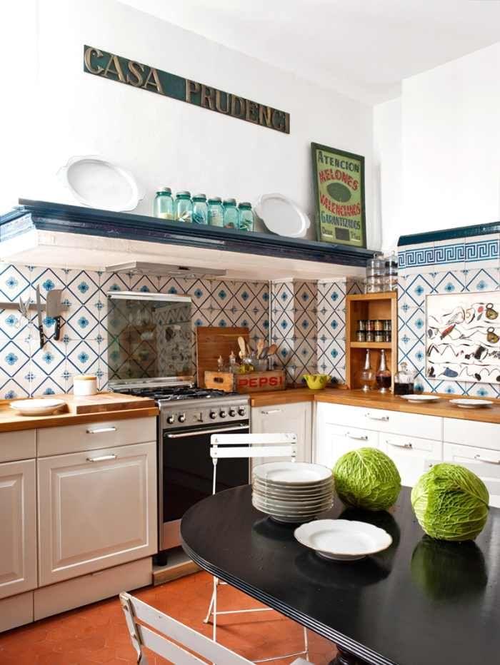 Decorar cocinas con objetos cotidianos decoracion cocina kitchen homedecor cocina - Objetos decoracion cocina ...