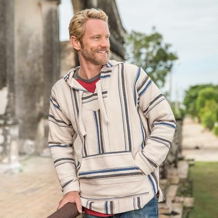SLATER BAJA HOODIE - Made from recycled tee shirt fabric, this hoodie takes you back to your roots.