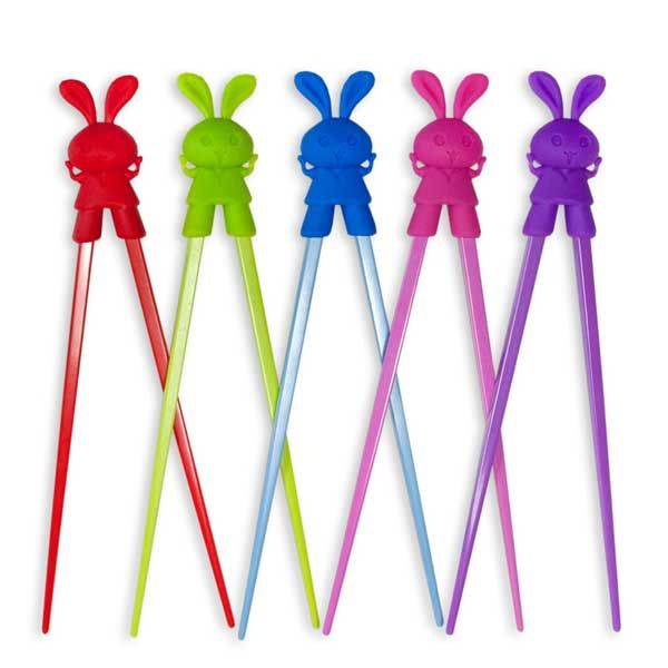 Back in Stock! {Training Chopsticks - Happy Bunny}