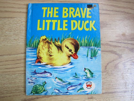 The Brave Little Duck / Wonder Books / Fleur by AtticEphemera