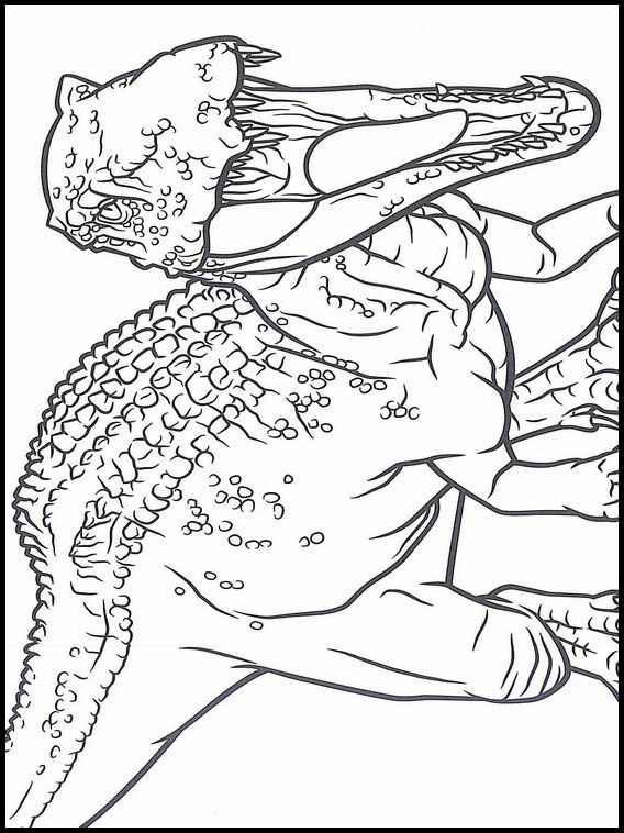 Jurassic World Coloring Book 10   Dinosaur coloring pages ...