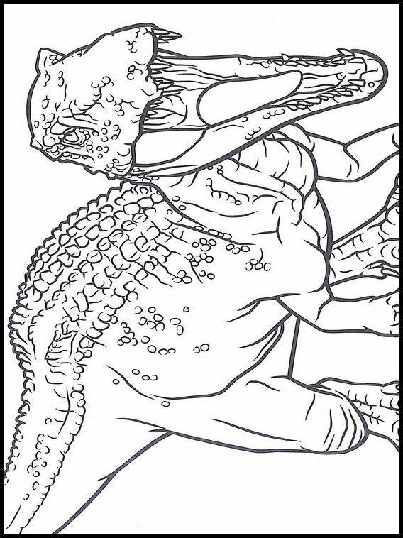 Jurassic World Coloring Book 10 Dinosaur Coloring Pages Coloring Pages Cartoon Coloring Pages