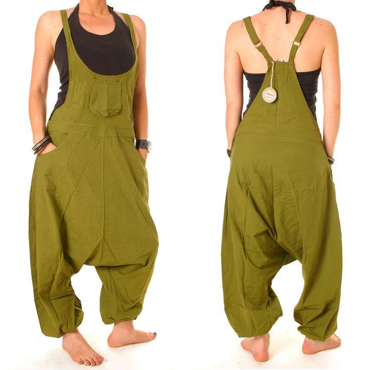 vishes Latz Hose Haremshose Sarouel Umstandshose Latzhose Pumphose Pluderhose in Kleidung & Accessoires | eBay