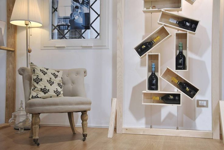 diVina : Scaffali per il vino di Officina41 Design Group