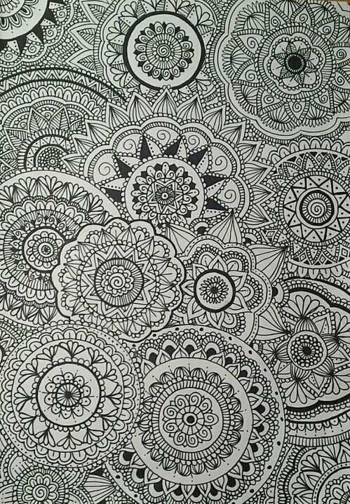 Imagen de drawings, mandalas, and art