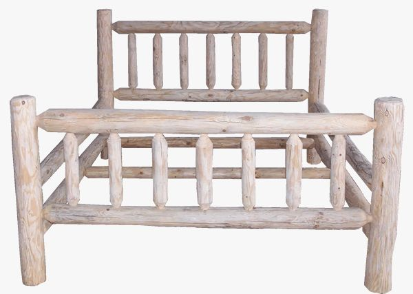 17 best ideas about log bed on pinterest log bed frame diy bed frame and farmhouse bed