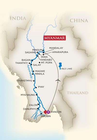 Ama Waterways - Hidden Wonders of Myanmar