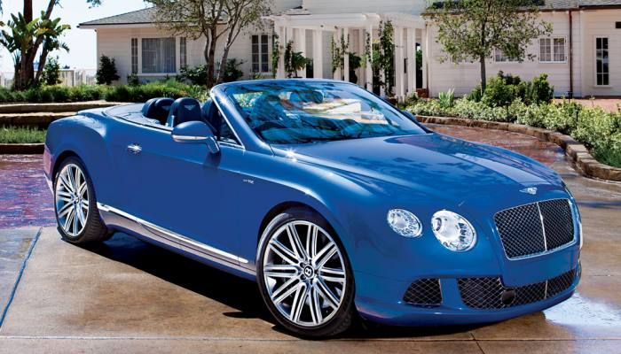 2014 Bentley Continental Gt Speed Convertible Photographed