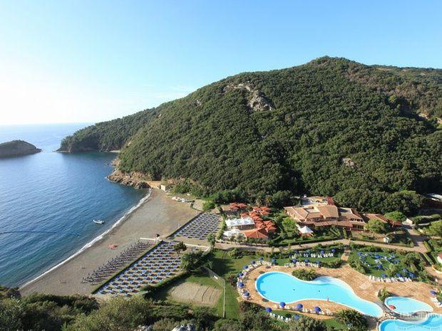 tálie - Villaggio Club Ortano Mare - Toskánsko - 4 lůžkové apartmány