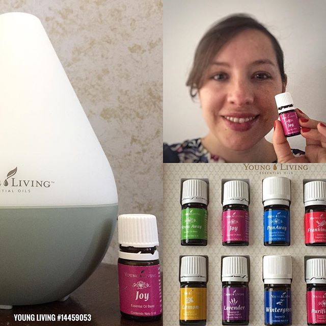 Its better than chocolate! No calories and helps me boost my mood in seconds! I love the essential oil from #youngliving JOY it has so many benefits. It can - boost our mood - calm us - promote peace - brings joy to the heart and the mind  And... used with a special technique it can help release the emotional pattern connected to  anxiety  If you live in #Norgway #Florida #Ecuador or any other place in the world I invite you to join our beautiful community get support and quality pure…