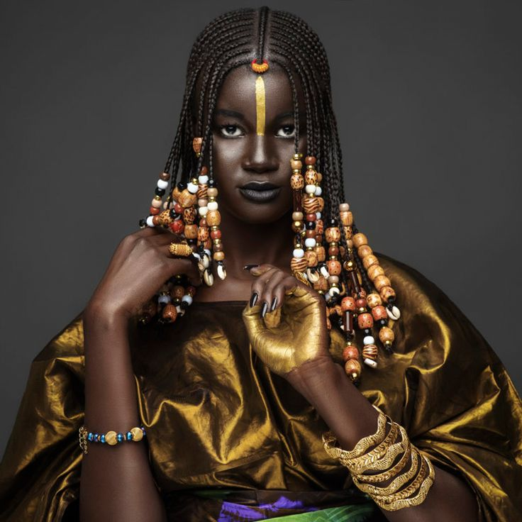 Khoudia Diop, Senegal, by Joey Rosado for 'NYENYO' Campaign