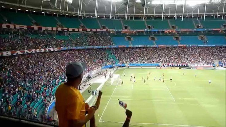 1º GOL - E.C.BAHIA 3X2 SHAKNTAR DONETSK - Itaipava Arena Fonte Nova - Sa...