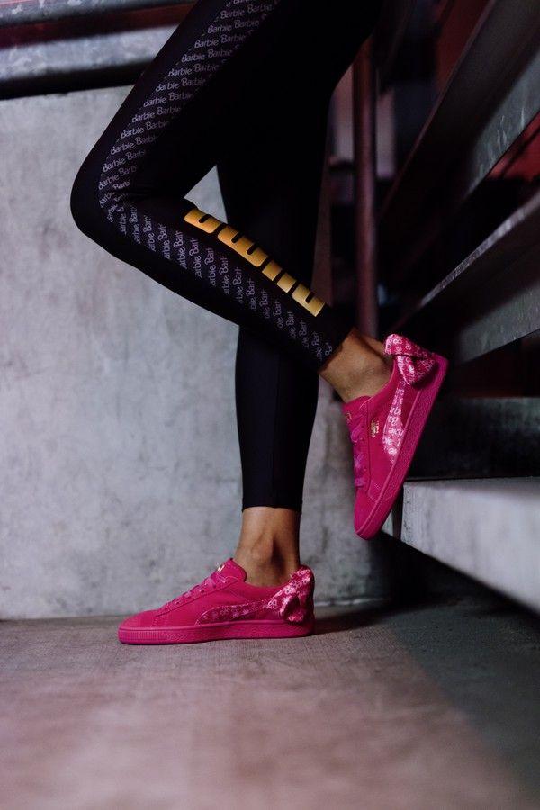 Para tudo! Puma lança no Brasil o Suede da Barbie c7352695a1204