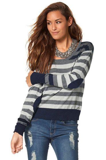 Urban Stripe Detail Pullover
