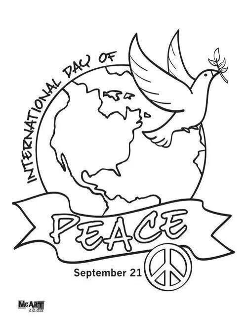 International Day of Peace~  Sept 21
