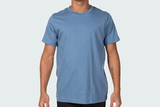 Mock-up your designs on this free Canvas 3001 100% cotton modeled template. Comes in every color!