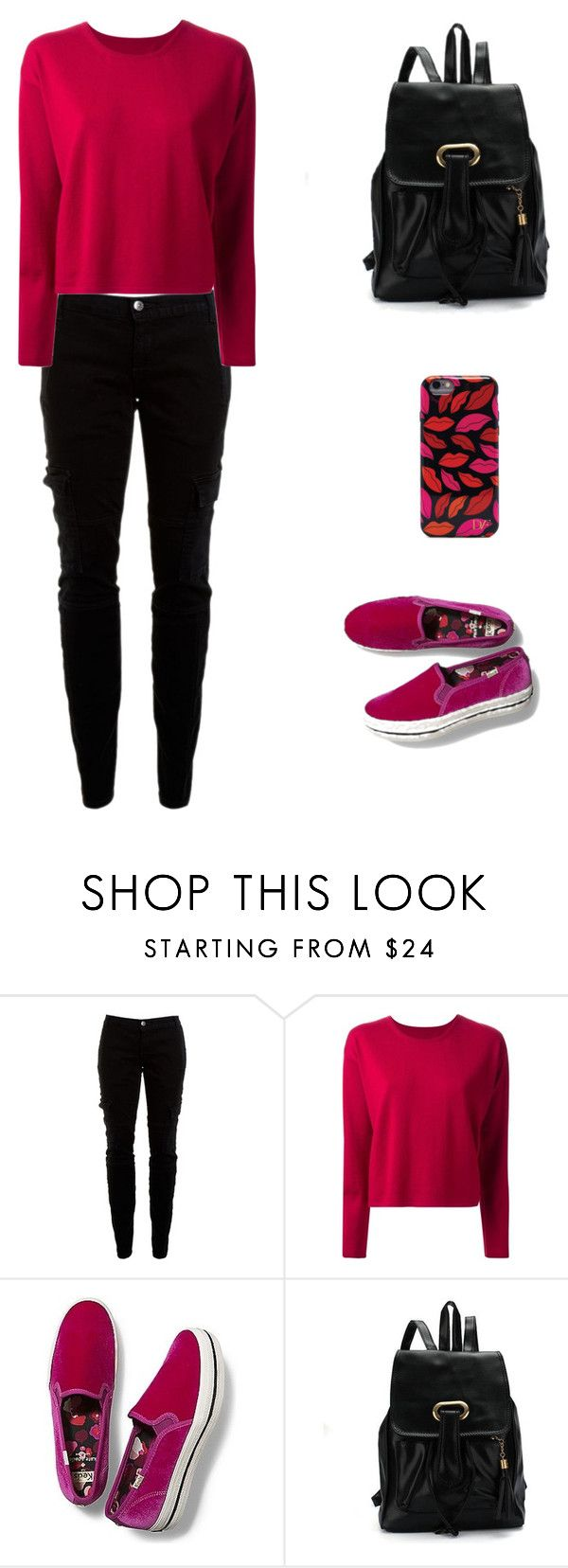 """Untitled #7"" by kayandzay on Polyvore featuring Joie, MM6 Maison Margiela, Keds and Diane Von Furstenberg"