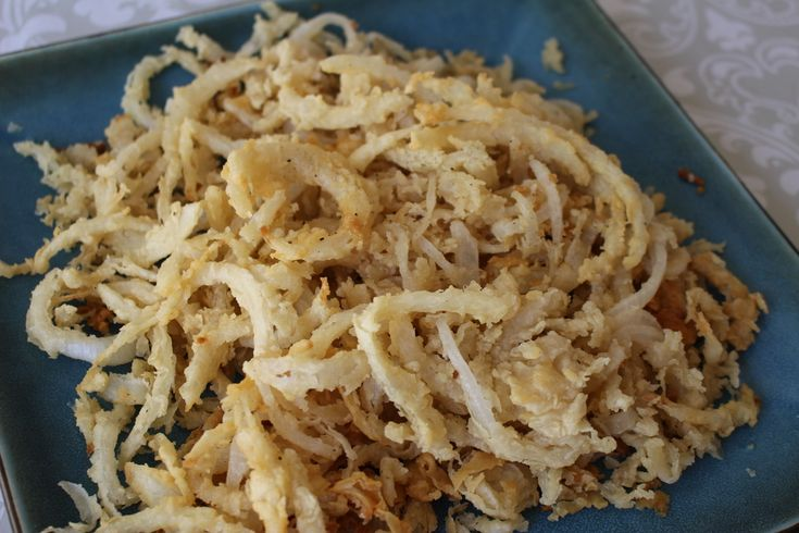 How to Make French Fried Onions | RecipeLion.com