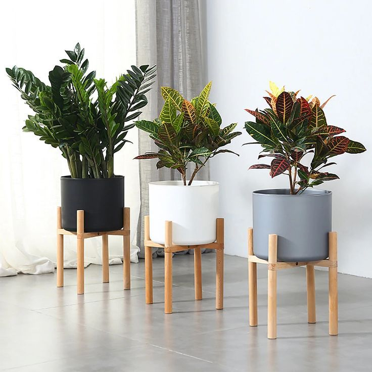 Plant Pots In 2020 Wooden Plant Pots Plant Decor Indoor Indoor Plant Pots