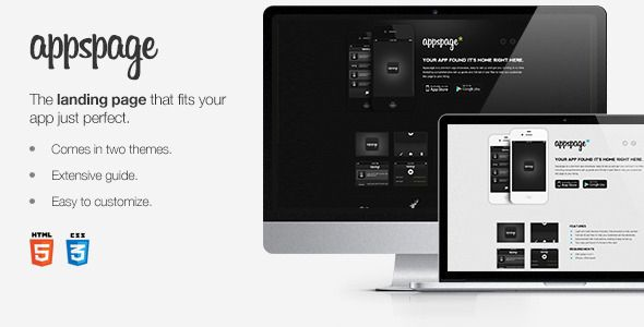 Appspage - App Landing Page