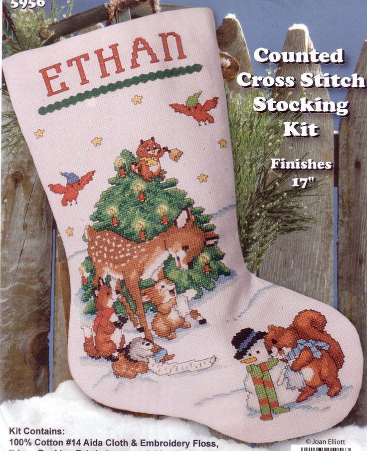 1000 Ideas About Christmas Stocking Kits On Pinterest