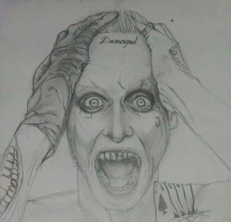 Joker dibujo a lapiuz