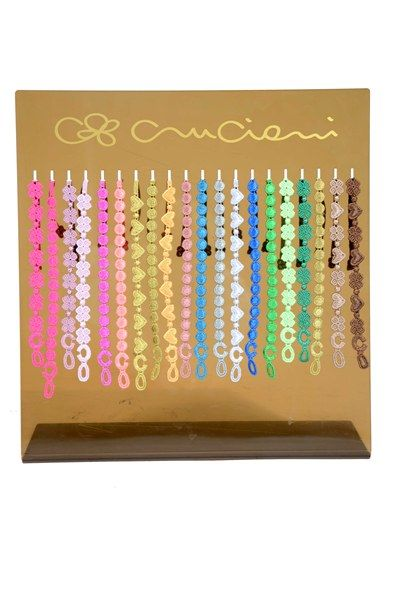 These gorgeous bracelets from Cruciani has become a real favorite. The brand started in 1920 and has since then developed their vision of br...